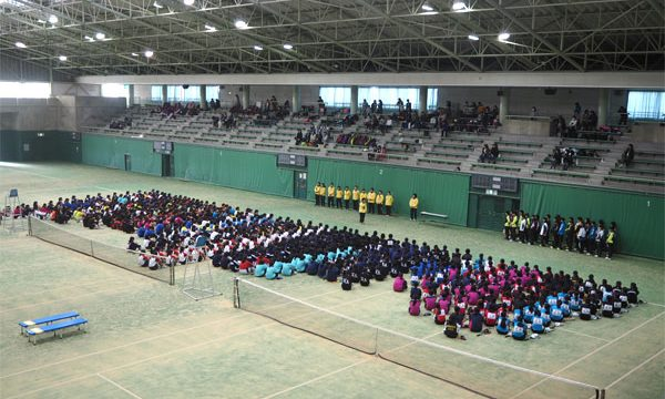中学生女子テニス大会